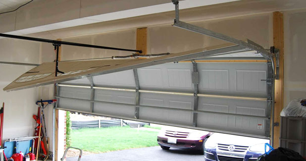 Off Tracks Garage Door Repair Virginia Three States